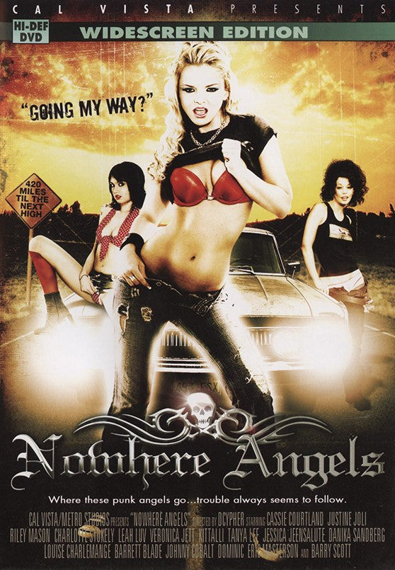 No Where Angels Cal Vista Sealed DVD