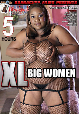 XL Big Women 5 Hour DVD in Sleeve