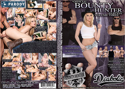 Bounty Hunter Parody #3 Diabolic Sealed DVD