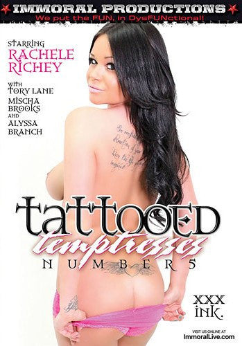 Tattooed Temptress #5 - Immoral Sealed DVD