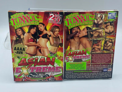 Asian Extreme Toxxxic 2 DVD New Sealed Set