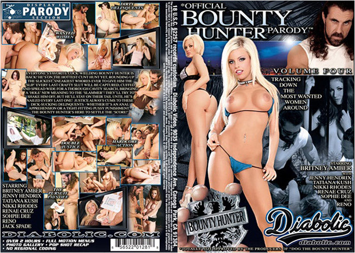 Bounty Hunter Parody #4 Diabolic Sealed DVD