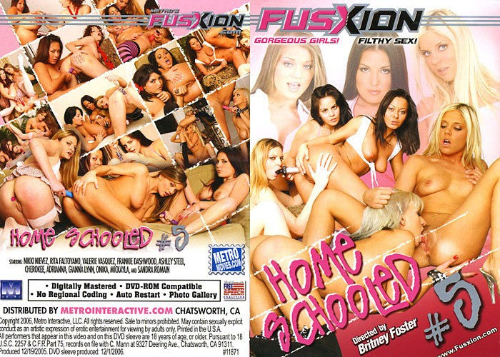 Home Schooled #5 - Fusxion Adult XXX Sealed DVD
