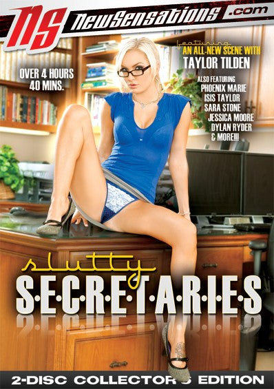 Slutty Secretaries - 5 Hours New Sensations 2 Sealed DVD Set