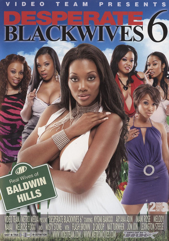 Desperate Blackwives #6 Video Team 2 Adult XXX DVD Set
