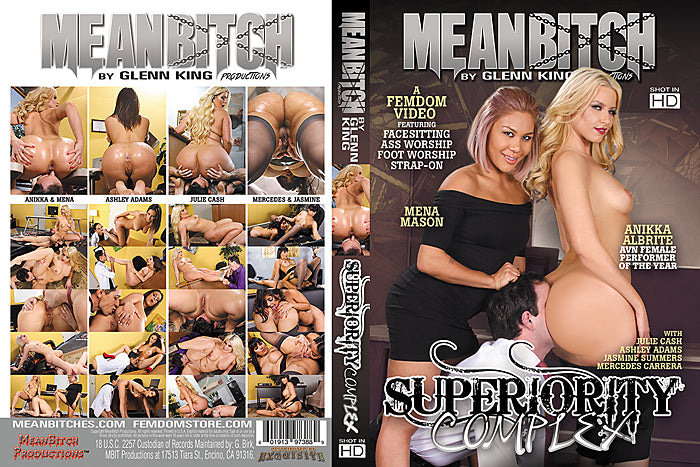 Superiority Complex #1 - Meanbitch Sealed DVD