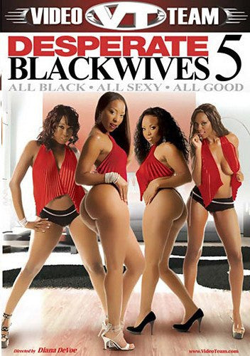 Desperate Blackwives #5 Video Team Sealed DVD