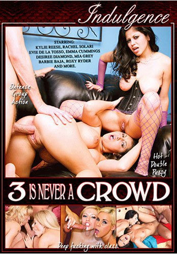 3 is Never a Crowd #1 - Indulgence - DVD
