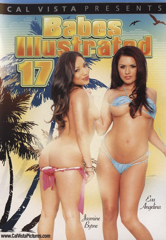 Babes Illustrated #17 (lesbian) Cal Vista Adult Sealed DVD