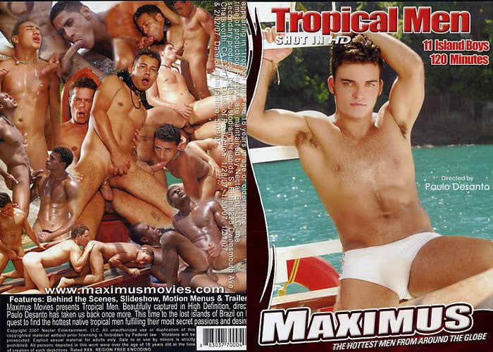 Tropical Men (gay) - Adult XXX DVD