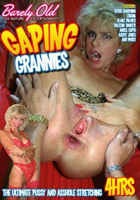 Gaping Grannies - 4 Hour DVD