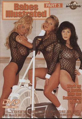 Babes Illustrated #3 (lesbian) Cal Vista Adult Sealed DVD