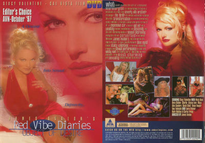 Red Vibe Diaries 1 - Cal Vista Sealed DVD