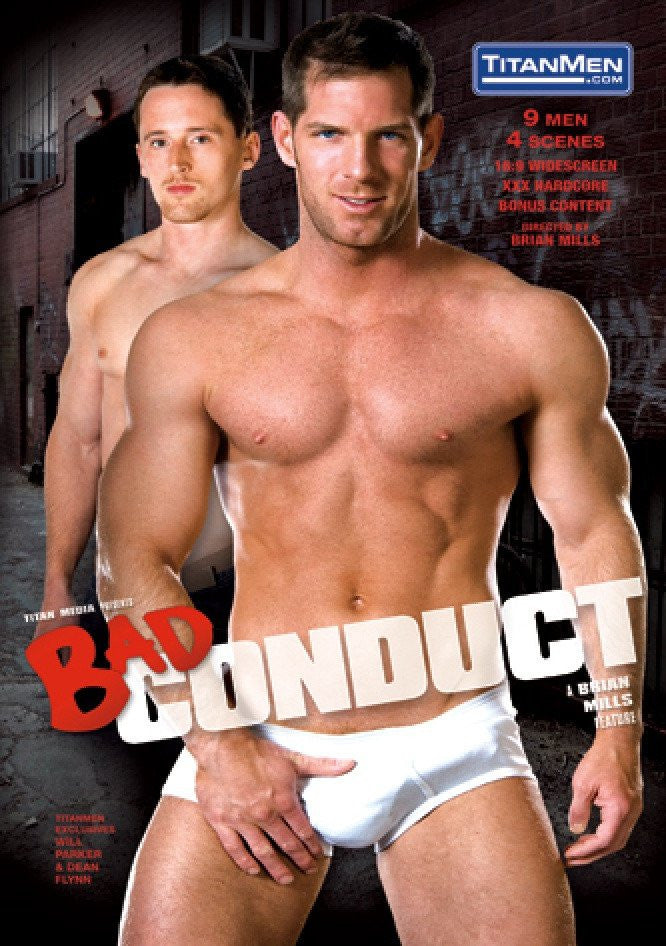 Bad Conduct - TitanMen Gay Sealed DVD