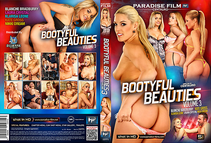 Bootyful Beauties #3 - Paradise - Sealed DVD