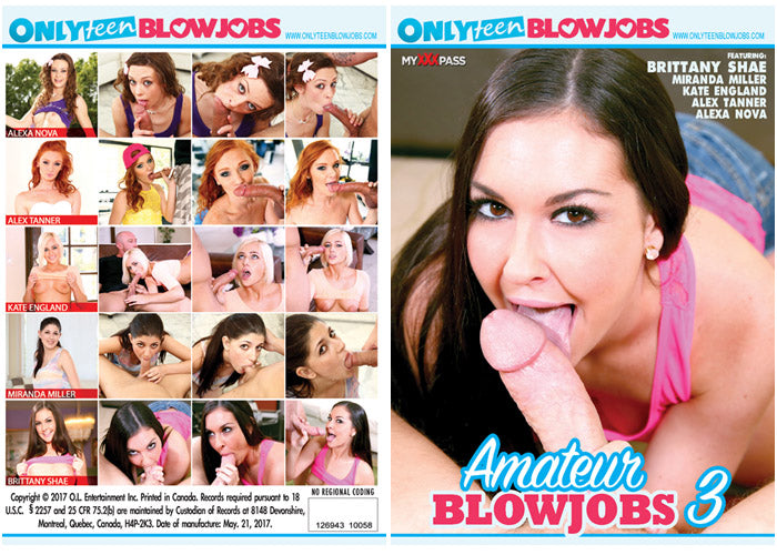 Amateur Blowjobs #3 - MyXXXPass Sealed DVD