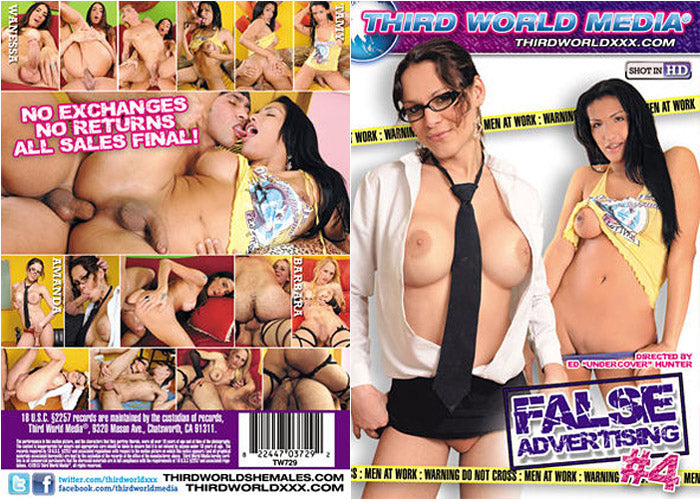 False Advertising #4 - Third World Media Sealed Transsexual DVD