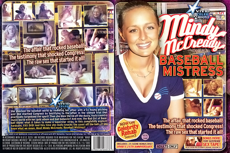 Mindy McCready Baseball Mistress - In Sleeve DVD