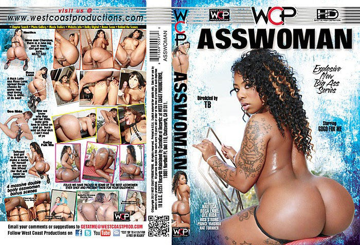 Asswoman #1 - WCP Sealed DVD