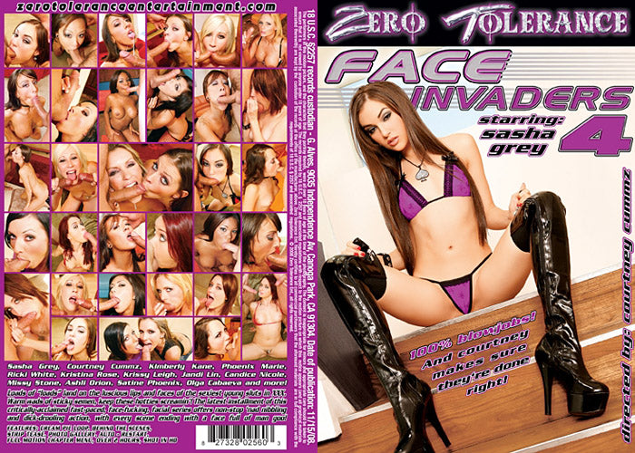 Face Invaders #4 - Zero Tolerance Sealed DVD