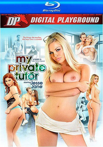 Jesse Jane My Private Tutor Digital Playground Blu Ray New DVD in Sleeve