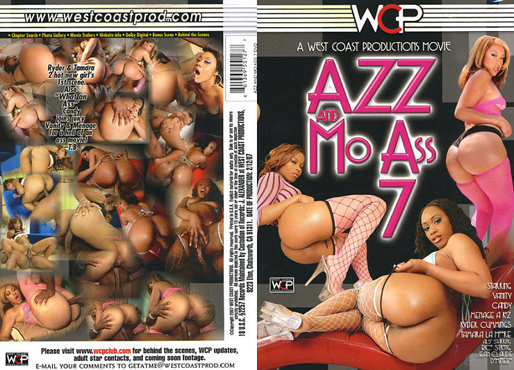 Azz and Mo Ass #7 - WCP Sealed DVD