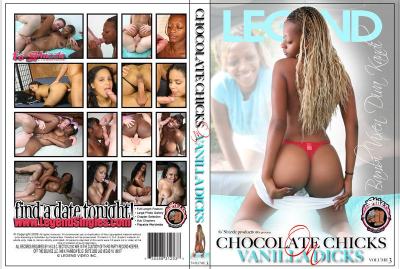 Chocolate Chicks & Vanilla Dicks #3 DVD