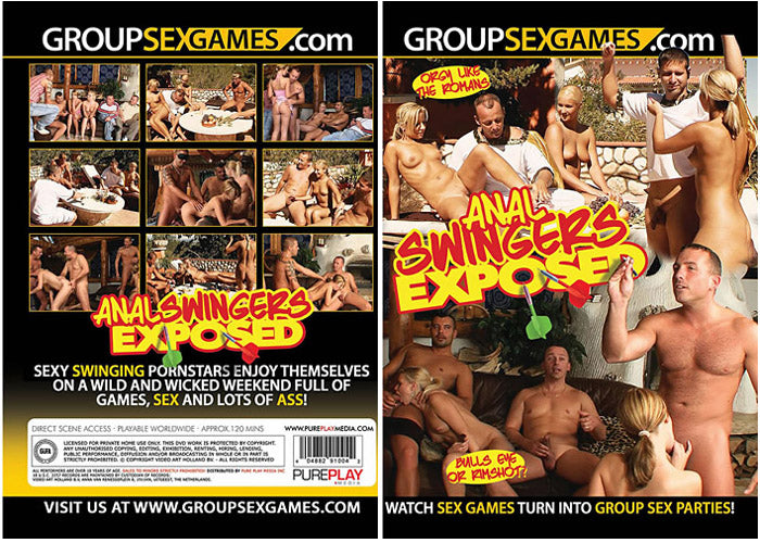 Anal Swingers Exposed - GroupSexGames Sealed DVD