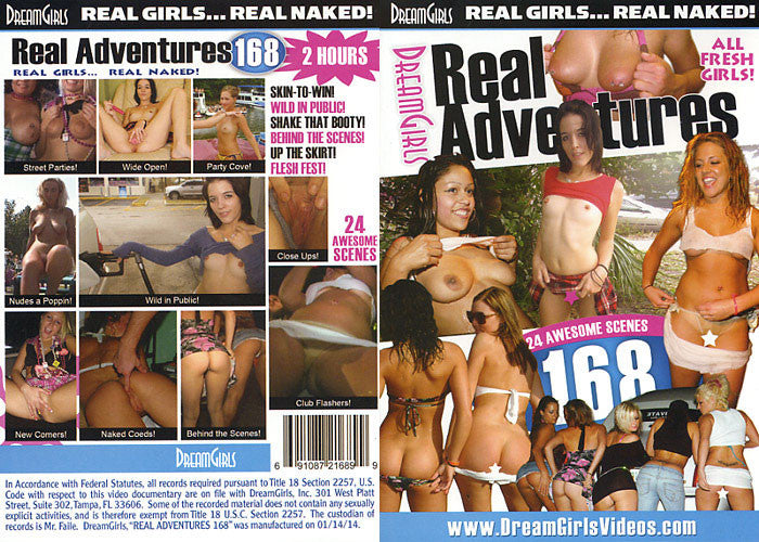 Real Adventures #168 - Dream Girls Sealed DVD
