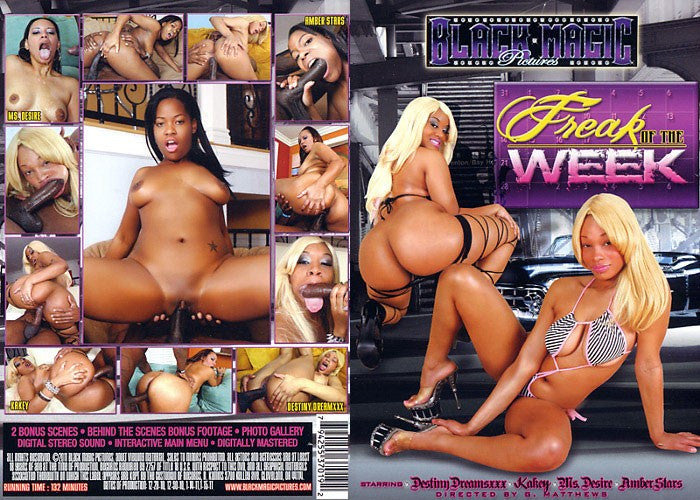 Freak of the Week - Black Magic Sealed Adult DVD