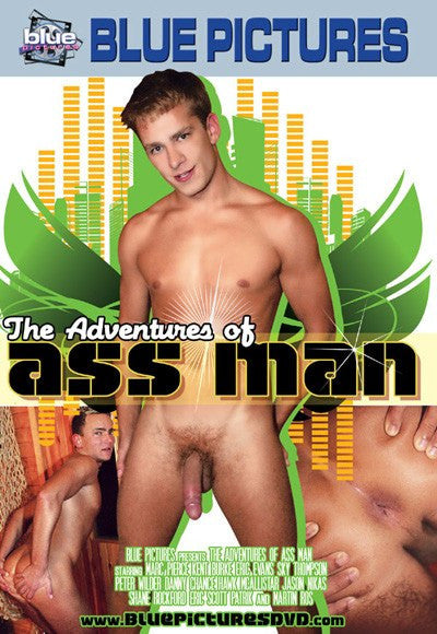 The Adventures of Ass Man - Blue Productions Gay DVD