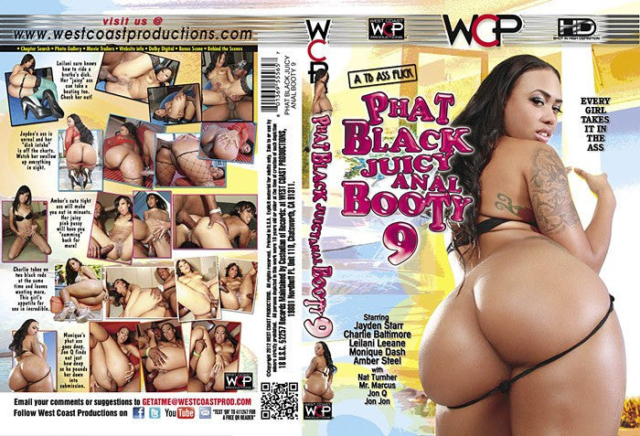Phat Black Juicy Anal Booty #9 - WCP Sealed DVD