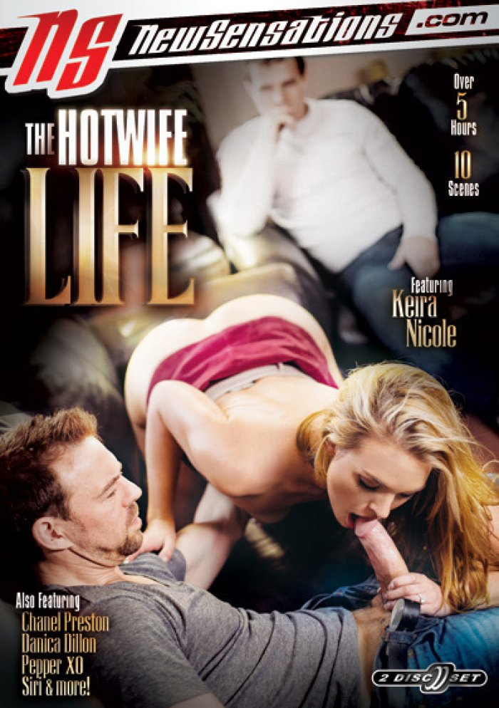 The Hotwife Life #1 - New Sensations Sealed 2 DVD Set