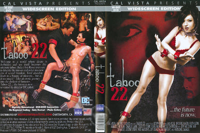 Taboo 22 - Cal Vista Sealed DVD