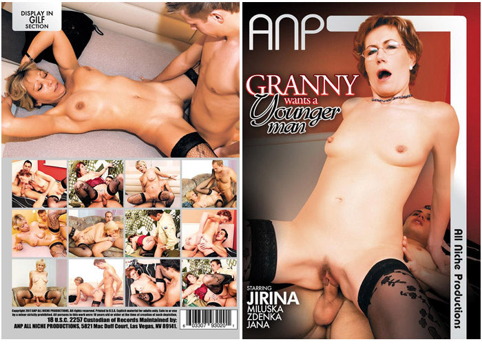 Granny Wants a Younger Man #1 - ANP Sealed DVD