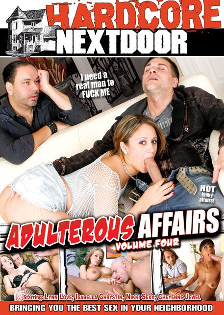 Adulterous Affairs #4 - Hardcore Next Door 2015 DVD