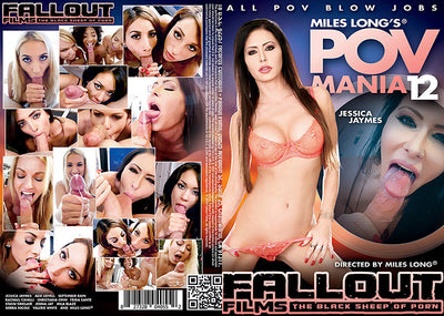 POV Mania #12 Fallout Adult XXX Sealed DVD