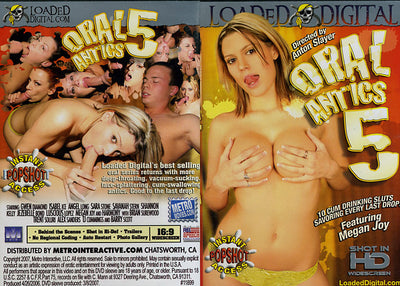 Oral Antics #5 - Loaded Digital Sealed DVD