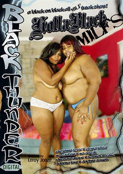 Holla Black Milfs Legend DVD in White Sleeve