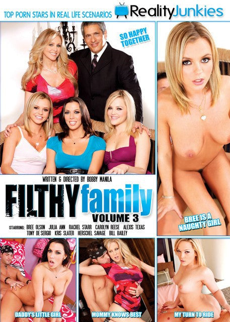 Filthy Family #3 Reality Junkies Sealed DVD