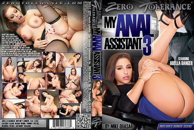 My Anal Assistant #3 - Zero Tolerance 2016 Sealed DVD