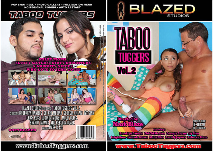 Taboo Tuggers #2 - Blazed New Sealed DVD