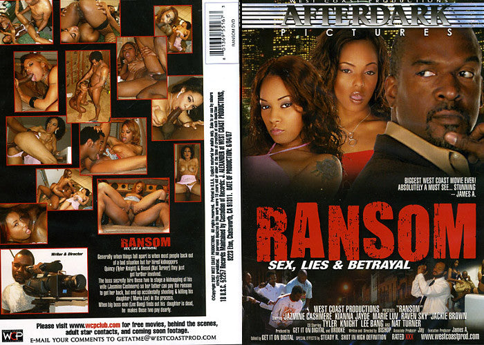 Ransom (real movie) - WCP Sealed DVD