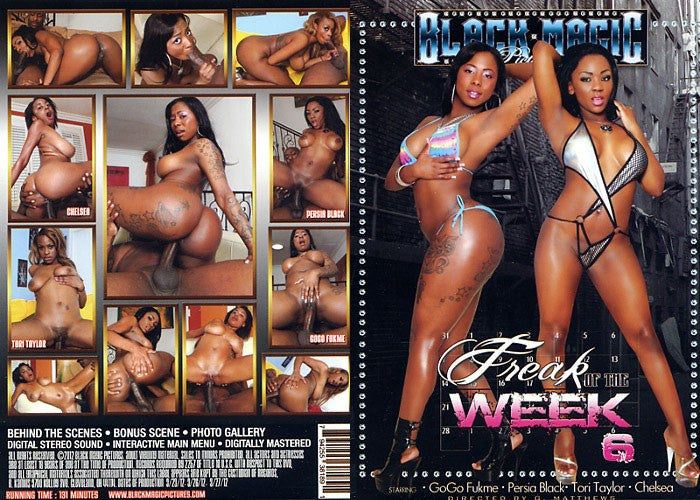 Freak of the Week #6 - Black Magic Sealed Adult DVD