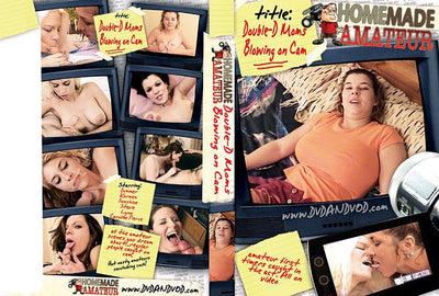 Double D Moms Blowing on Cam - Homemade Amateurs Adult XXX DVD