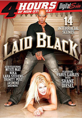 Laid Black - 4 Hours Digital Sin Adult XXX Sealed DVD
