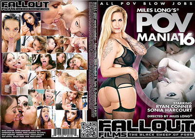 POV Mania #16 Fallout Adult XXX Sealed DVD