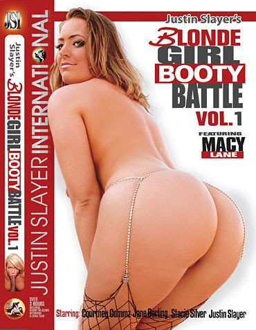 Blonde Girl Booty Battle #1 - Justin Slayer Sealed DVD