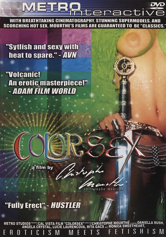 Color Sex Cal Vista Adult DVD
