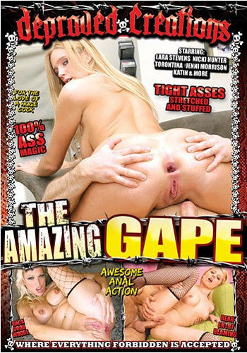 The Amazing Gape - Depraved Creations - Adult XXX DVD